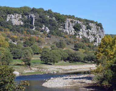 Location gîte Balazuc Ardèche